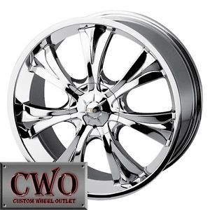 18 Chrome Baccarat Mirage Wheels Rims 4x100 4x114 3 4 Lug Civic Cobalt Accord