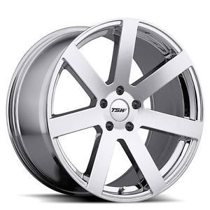 18 inch TSW Bardo Chrome Wheels Rims 5x120 RL TL MDX ZDX BMW 1 3 Series Z3 Z4 G8
