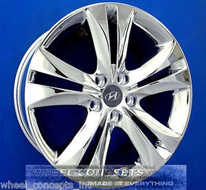 Hyundai Genesis Coupe 18 inch Chrome Wheel Exchange Rims