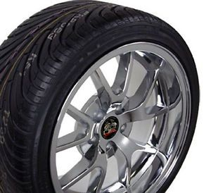 "18"" Fits Mustang® FR500 Wheels Rims Tires Chrome"