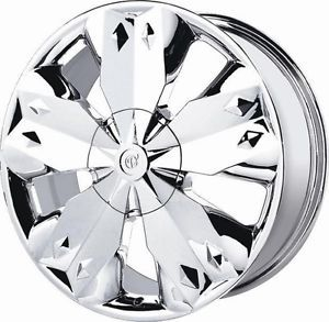 18 inch Verde Diamond Chrome Wheels Rims 5x115 Challenger STS Impala Lumina XL 7