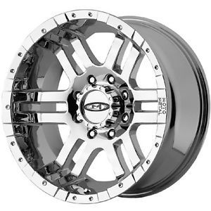 20'' x10 Moto Metal 951 Chrome Wheels 6x135 Ford F150