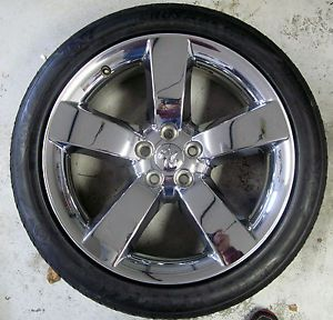 "20"" Dodge Charger Wheel Chrome Clad Wheels Rims Tires Magnum Challenger"