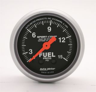 Mechanical Oil Pressure Gauge