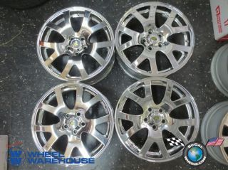 Four 06 09 Range Rover Sport LR3 Factory 19 Chrome Wheels Rims 72204 Clean