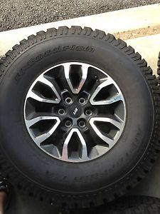 Ford Raptor Factory Wheels and BF Goodrich TA KO Tires