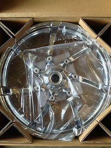 "Harley Davidson 19"" Agitator Chrome Front Wheel Touring Bagger 55071 11"