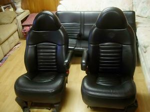 2000 Ford F 150 Harley Davidson Edition Black Leather Seats