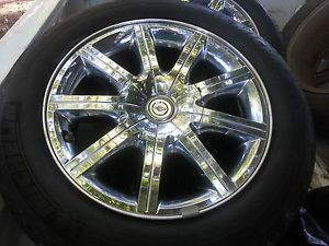 Chrysler 300C Hemi Chrome Clad Factory Alloy 18 inch Wheels Tires Rims