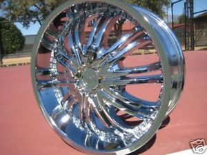 "18"" Chrome Wheels Rims Chevy Blazer S10 Sonoma Pontiac"