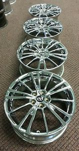 "69621 Subaru BRZ Scion FRS 17"" Factory Chrome Rims Wheels"