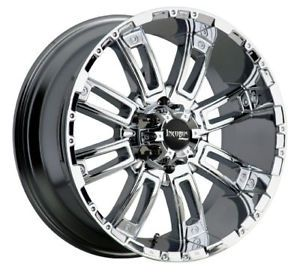 Avalanche Chrome Rims Wheels, Tires & Parts