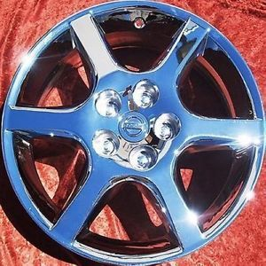 "Exchange Set of 4 New Chrome 17"" Nissan Altima Wheels Rims Maxima 62398"