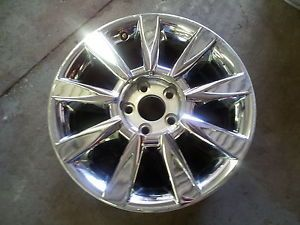 "Lincoln MKZ 17"" Used Chrome Wheel Rim Factory Stock Wheel 2010 2012 3804"