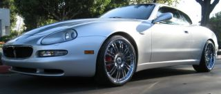 20 asanti AF128 Maserati Coupe Chrome Wheels Tires