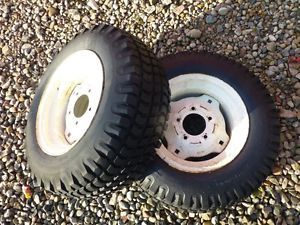 Cub Cadet 104 Tractor BF Goodrich 23x8 50 12 Rear Tires Rims