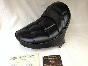 Genuine Harley Davidson 1986 1995 Softail Leather Solo Seat 52220 86