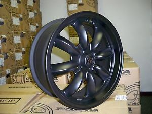 16 Rota RB Flat Black Rims Wheels Tires Mini Cooper s Clubman Falken 195 55 16