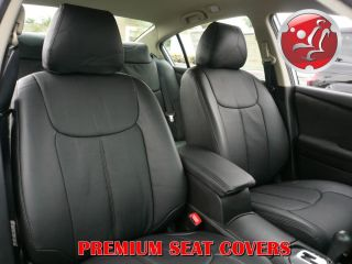 Nissan Altima Sedan 2007 2012 Clazzio Leather Custom Front Rear Seat Covers
