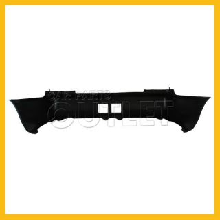 93 97 Chevy Geo Prizm Rear Bumper Cover Assembly New Replacement Matte Black