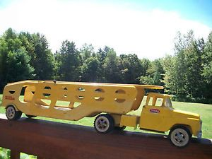 Tonka Truck Car Carrier