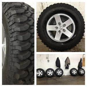BF Goodrich Mud Terrain Wheel and Tire Set for Jeep Wrangler