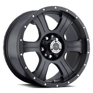 "5 17"" Vision Wheels Rims 5x127 Jeep Wrangler JK 33"" Nitto at Tires Package"