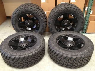 "20"" XD Rockstar Wheels with 35"" Nitto Trail Grappler Tires"