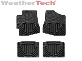 Weathertech® All Weather Floor Mats Toyota Highlander 2001 2005 Black