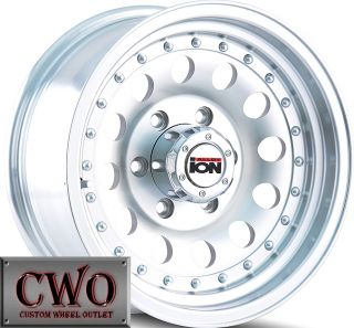 15 Machined ion 71 Wheels Rims 5x139 7 5 Lug Dodge RAM Dakota Durango