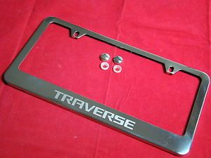 Chevrolet Traverse Chrome License Plate Frame Stainless Steel