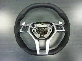 New Mercedes AMG Performance Steering Wheel Alcantara W204 218 212 Shift Paddles