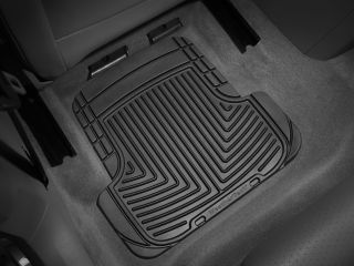 Weathertech® All Weather Floor Mats 2006 2010 VW Jetta Gli Black