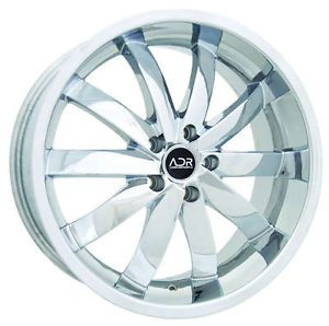 Adr 54 20x8 5 5x112 20 Chrome Wheels Rims Audi Allroad Mercedes SL Class MBZ