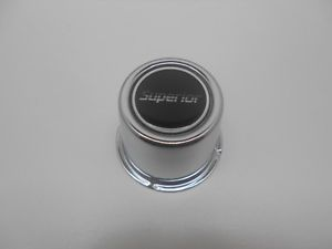 Superior Custom Wheel Center Cap Chrome Alloy Finish 2 5 8 inch Diameter