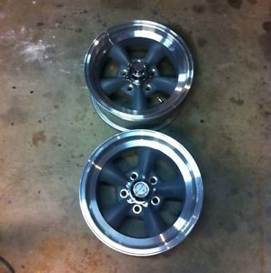 American Racing Torque Thrust Wheels Camaro Chevelle Impala El Camino GM 15x7