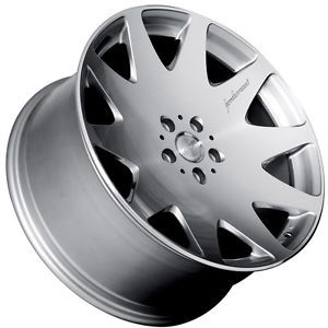 "20"" MRR HR3 Silver Wheels Rims Fit Mercedes s Class W220 W221 2000 SL R230"