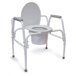 Briggs Healthcare Extra Wide Heavy Duty Steel Commode