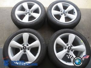 "Four 2013 Ford Mustang Factory 18"" Wheels Tires Rims Pirelli 235 50 18 3907"