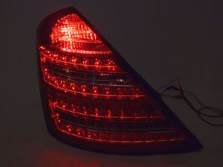 USA Depo 10 12 Mercedes Benz W221 s Class Replacement LED Tail Light Lamp Pair