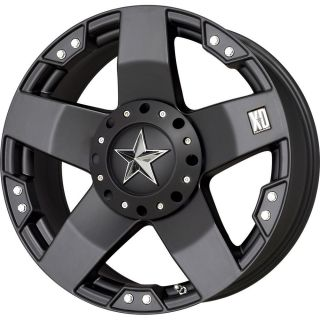 1 New 20x10 24 Offset 6x135 6x139 7 XD Rock Star Black Wheel Rim