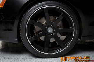 "20"" Giovanna Andros Wheels Audi A5 S5 Tires Package Black"