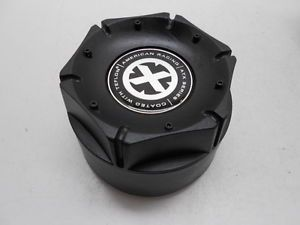 American Racing ATX Series Custom Wheel Center Cap Black Finish SC 146B