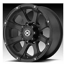 "18"" Wheels Rims ATX Ledge Teflon Black with 275 70 18 Nitto Terra Grappler At"