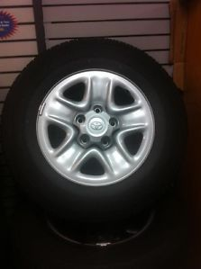 "08 13 Toyota Tundra Sequoia 4 18"" Wheels P255 70R18 Bridgestone Take Off Tires"