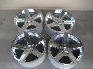 Dodge RAM Sport 1500 Truck 20 Chrome Wheels Rims w Center Caps Set 4