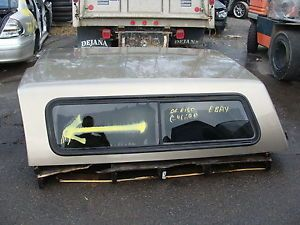 04 12 Ford F150 Fiberglass Truck Cap Bed 6 5 ft Bed Tan Beige