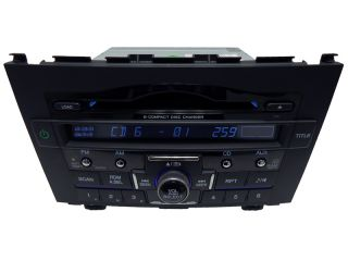 New Honda CR V CRV Radio Stereo 6 Disc Changer  CD Player Factory 1XN4