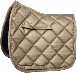Harry's Horse Glamrock Dressage Saddle Pad Metallic Look Saddle Cloth