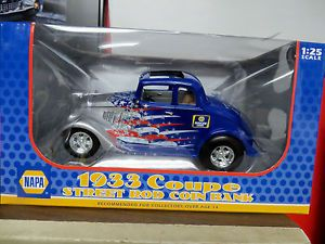 Napa Auto Care 1933 Willys Chevy Hot Rod Street Rod Brand New First Gear 33